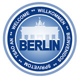 Divisa de Berlín ilustración del vector