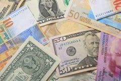 Divisa nacional del dinero foto de archivo