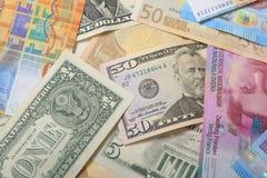 Divisa nacional del dinero imagen de archivo