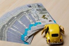 Divisa nacional del tenge de Kazajistán Dinero del Kazakh imágenes de archivo libres de regalías