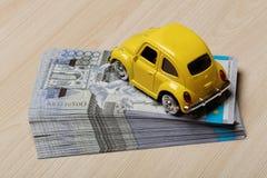 Divisa nacional del tenge de Kazajistán Dinero del Kazakh imagen de archivo libre de regalías
