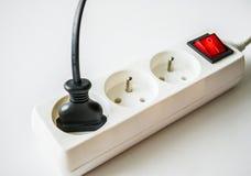 diviseur électrique Photos stock
