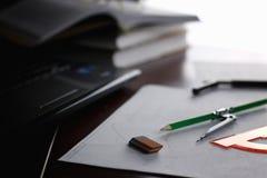 Diviseur de crayon de Tableau Image libre de droits