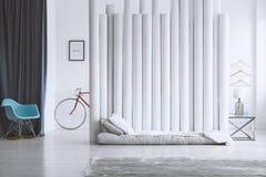 Diviseur gris de lit et de tube Photos libres de droits