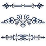 Diviseurs bleus Image stock