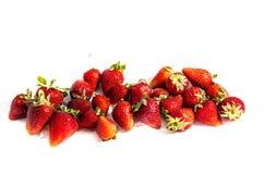 Divisez en lots le ` s du ` s de fraise tout aligné photos libres de droits