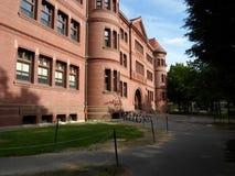 Divisez Hall, yard de Harvard, Université d'Harvard, Cambridge, le Massachusetts, Etats-Unis Image stock