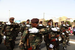 Division of the army of Cape Verde Stock Photography