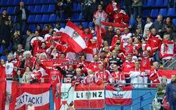 Division 2017 de championnat du monde de hockey sur glace 1 dans Kyiv, Ukraine Photo stock
