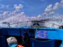Division de l'eau photographie stock