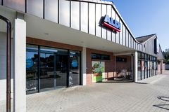 Division de nord de branche d'Aldi photos stock