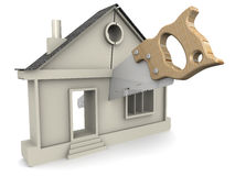 Division of Property. Concept Stock Photography