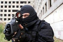 Division spéciale. Photos libres de droits