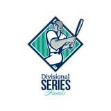 Divisional Baseball Series Finals Retro Stock Photo