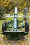 Divisional Russian 160 mm mortar model 1943. Royalty Free Stock Photos