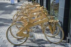 Divisione della bici Fotografie Stock