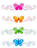 Divisor da borboleta ilustração royalty free