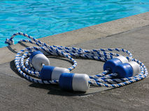 divisor de la piscina Imagenes de archivo