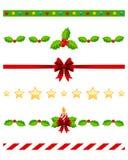Divisores de la Navidad fijados [3] Imagen de archivo libre de regalías