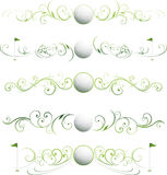 Divisores de la paginación del golf Imagen de archivo libre de regalías