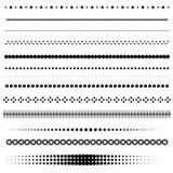 Divisores del punto del vector Fotografía de archivo libre de regalías