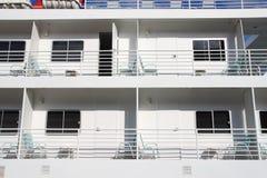 Divisorii del balcone Fotografie Stock Libere da Diritti