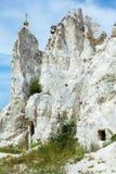 Divnogore - a museum reserve of the Cretaceous mountains Stock Photos