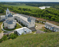 Divnogorsky monastery, Voronezh region, Russia Stock Images