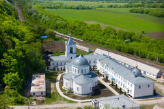 Divnogorsky Sacred Uspensky man's monastery Royalty Free Stock Photo