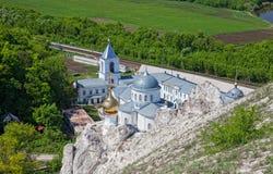 Divnogorsky Sacred Uspensky man's monastery Royalty Free Stock Photos