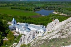 Divnogorsky Sacred Uspensky man's monastery Stock Photo