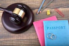 Divorce, amour et antécédents familiaux abstraits Photographie stock libre de droits