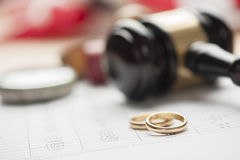 Divorce concept Stock Photos