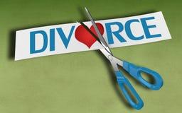 Divorce concept Stock Images