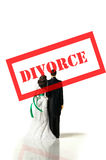 Divorce couple Stock Photo