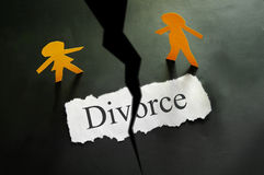 Divorce couple Royalty Free Stock Photo