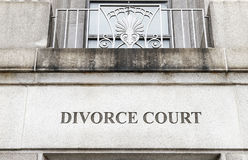Divorce Court Stock Photos