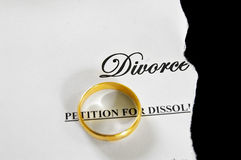 Divorce decree Royalty Free Stock Photo