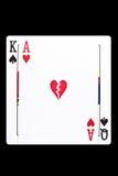 Divorce Gambling Addiction. Divorce, broken relationships, gambling addiction concept Stock Photo