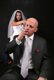 Divorce after marriage Stock Image