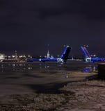 Divorce Palace bridge, St. Petersburg, Russia Stock Photos