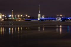 Divorce Palace bridge, St. Petersburg, Russia Royalty Free Stock Image
