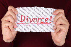 Divorce ! Royalty Free Stock Photography