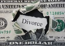 Divorce rip Stock Photos