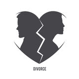 Divorce visual concept Stock Photography