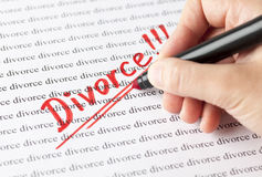 Divorce !!! Royalty Free Stock Images