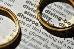 Divorcio Imagenes de archivo