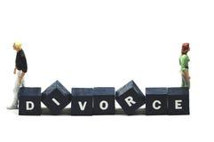 Divorcio Imágenes de archivo libres de regalías