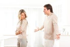 Divorzio Fotografia Stock Libera da Diritti