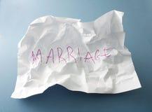 Divorzio Immagini Stock Libere da Diritti